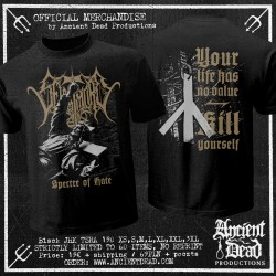 SELBSTMORD Spectre of Hate T-SHIRT PRE-ORDER