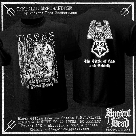 VELES The Triumph Of Pagan Beliefs T-SHIRT