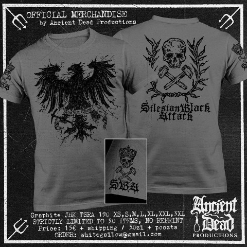 SILESIAN BLACK ATTACK The Blood of Black Soil T-SHIRT