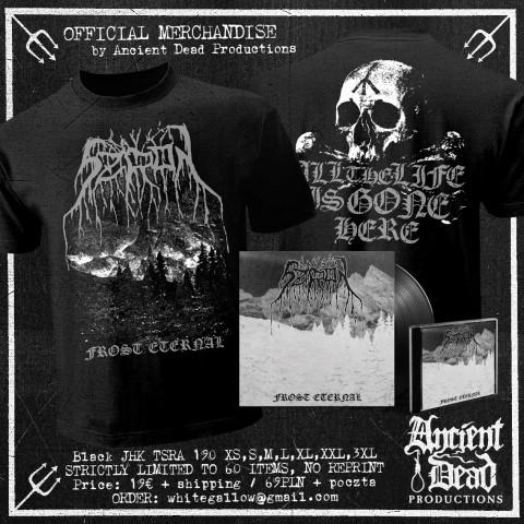 SZRON Frost Eternal T-SHIRT/CD/VINYL Bundle
