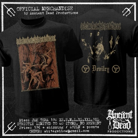 BARATHRUM Devilry T-SHIRT