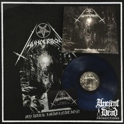 THUNDERBOLT Black Clouds Over Dark Majesty VINYL/T-SHIRT/PATCH Bundle