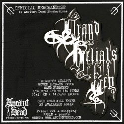 GRAND BELIAL'S KEY Logo BACKPATCH